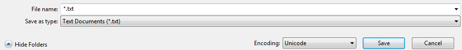 encoding-unicode