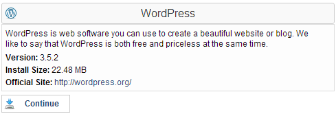quickinstall-wordpress